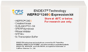 WEPRO1240G Expression Kit
