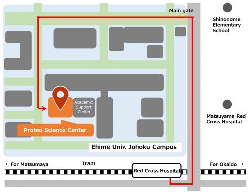 access matsuyama map en