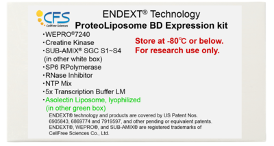ProteoLiposome BD Expression Kit