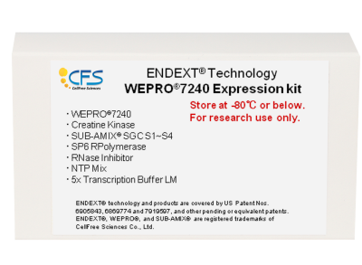 WEPRO7240 Expression Kit test